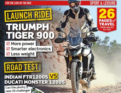 What's inside the May issue of Motorcycle Sport & Leisure?