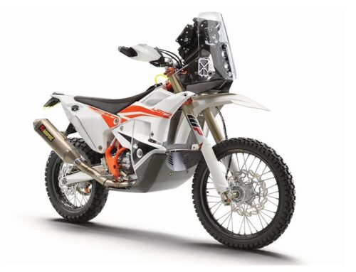 KTM's latest 450 Rally Replica. The closest YOU can get to a factory Dakar racer.