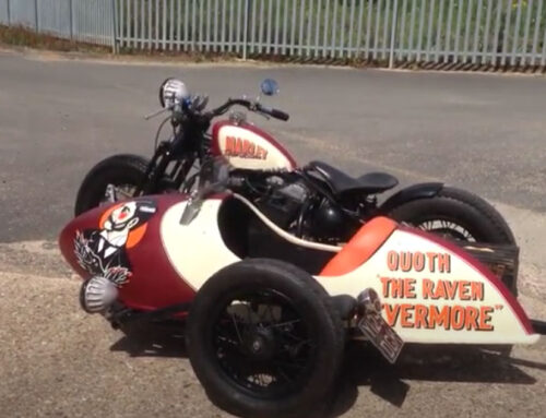 WATCH: Sportster sidecar outfit