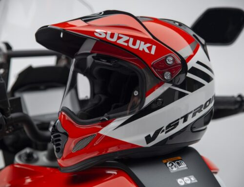 NEW GEAR: Arai's Tour-X4 inspired by the NEW Suzuki 1050XT. Available NOW.