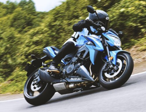 SAVE SOME CASH: Take a test ride and get £500 OFF a range of Suzuki's
