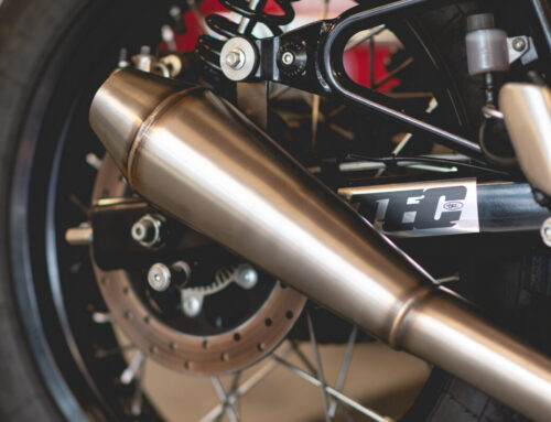 TEC's Stinger exhaust system for Royal Enfield's 650 Twins. Looks great, sounds even better.