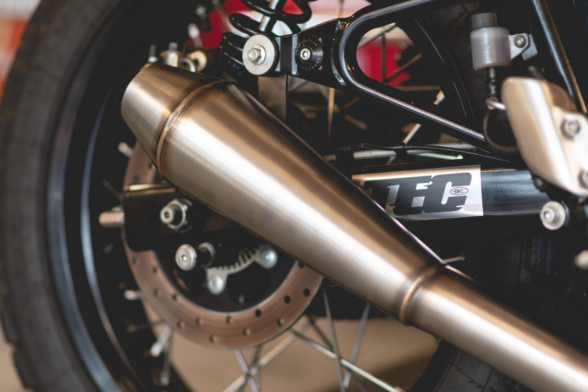 TEC's exhaust for Royal Enfield's 650 Twins