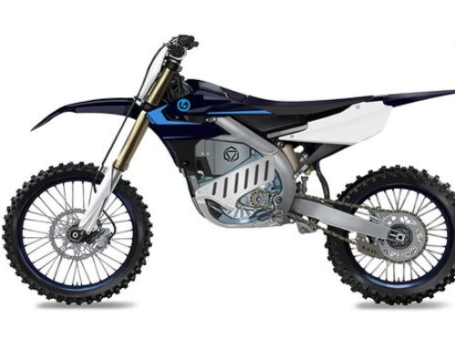 Prototype ELECTRIC motocrosser based on Yamaha's YZ250F