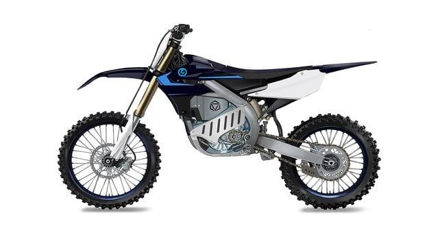 Prototype ELECTRIC motocrosser based on Yamaha's YZ250F