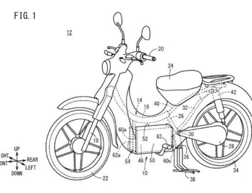 PATENTS: Honda's ELECTRIC Super Cub is coming…