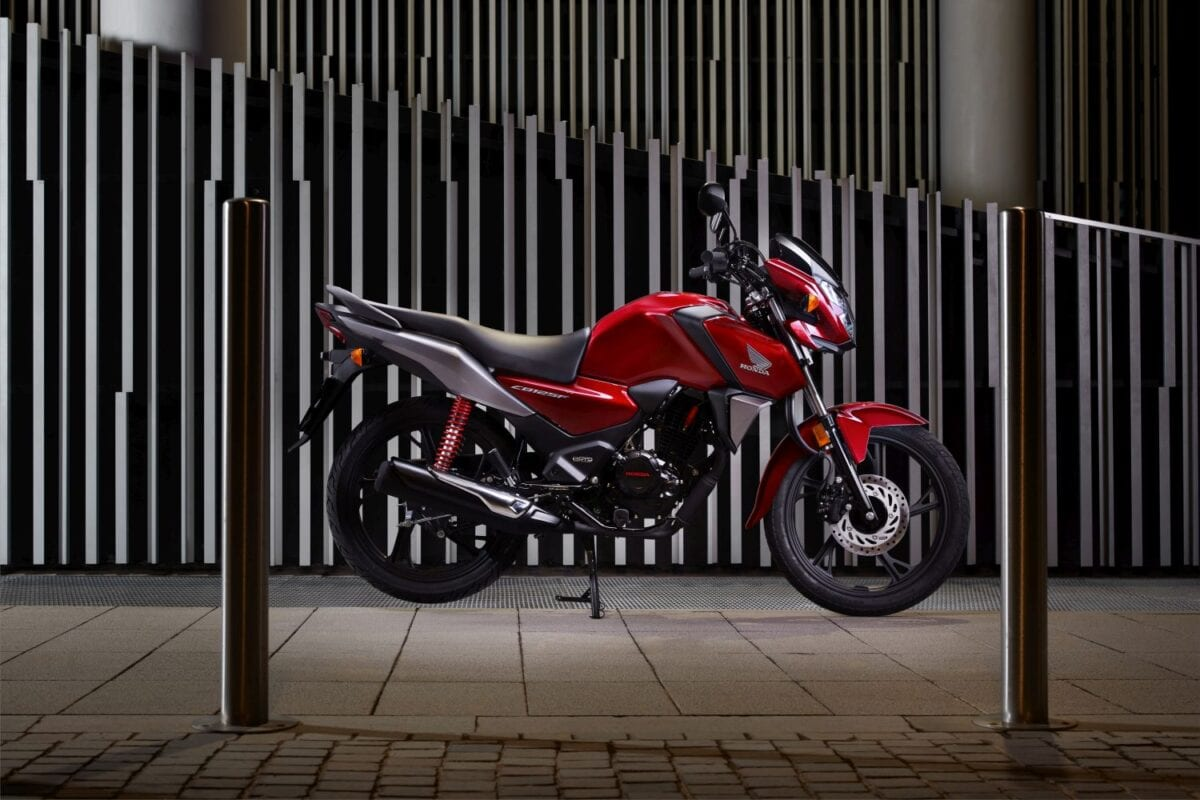 Honda CB125F for 2021