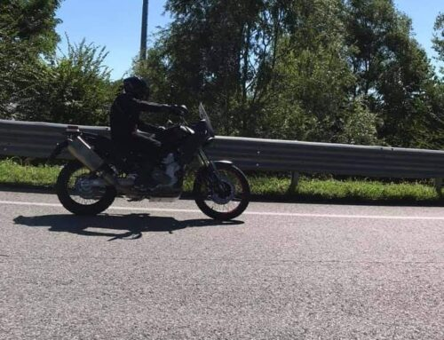 GOTCHA! Aprilia's Tuareg 660 caught out testing. The 660cc adventure bike is coming!