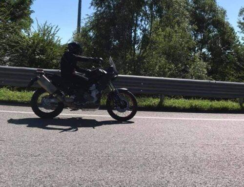 GOTCHA! Aprilia's Tuareg 660 caught out testing. The 660cc adventure bike is coming!