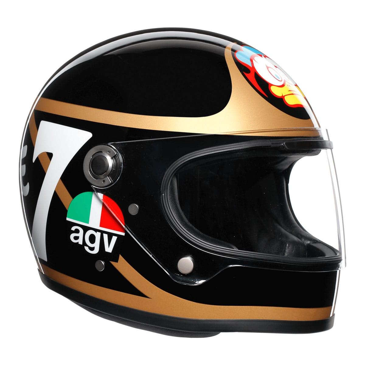Barry Sheene AGV helmet