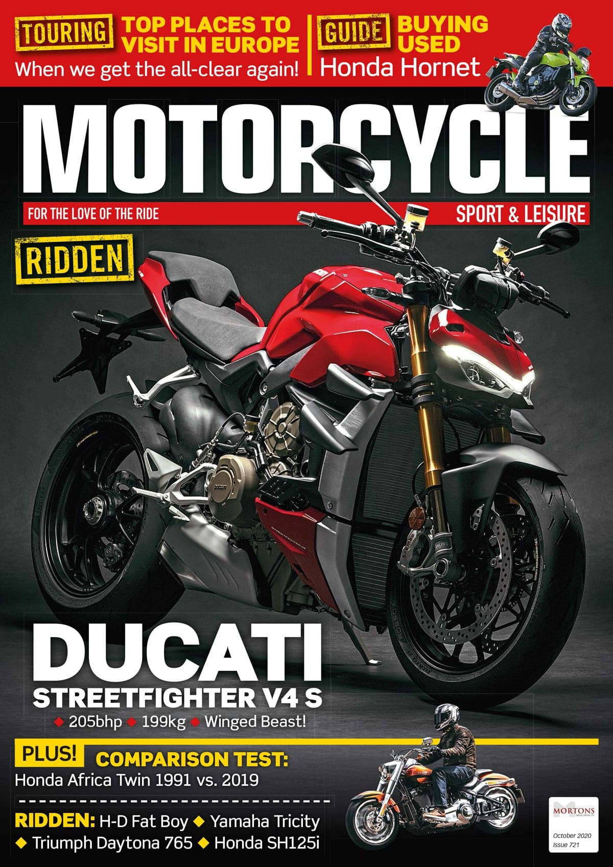 October edition of Motorcycle Sport & Leisure