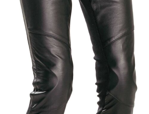 PRODUCT: Richa Catwalk ladies leather trousers