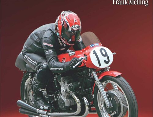 Rev your engines, Classic Superbikes by Frank Melling is here
