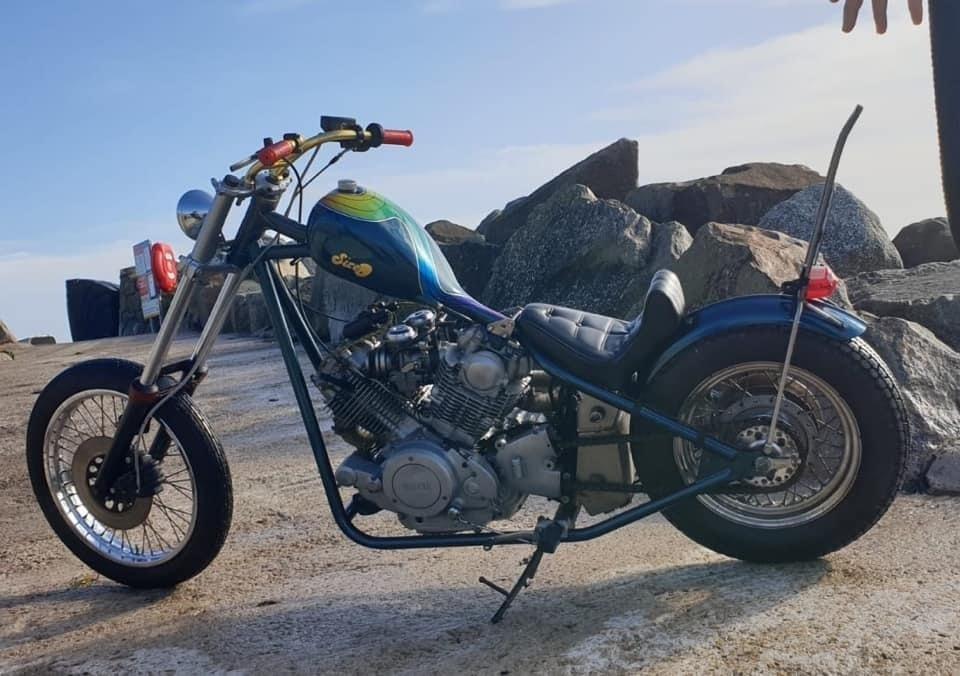 TR1 Yamaha chop