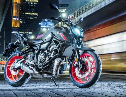 Yamaha reveals new MT-07. Small update for 2021.