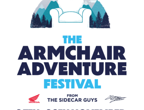 THIS WEEKEND: The Armchair Adventure Festival is BACK! Here's the FULL schedule.
