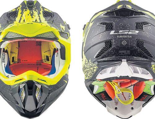 PRODUCT: LS2 Subverter motocross helmet