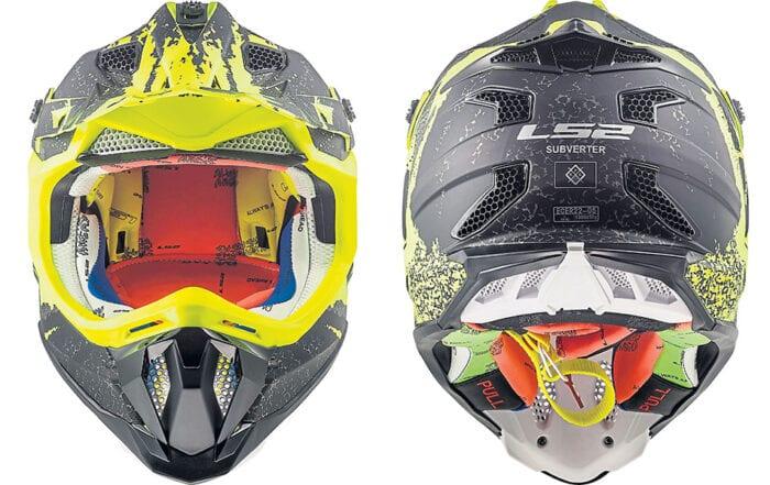 LS2 subverter helmet