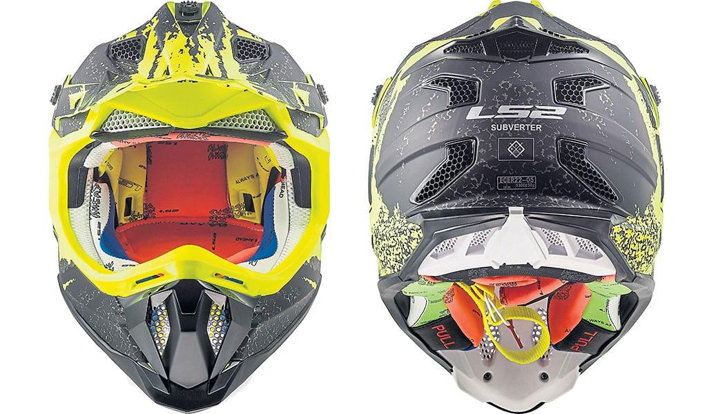 LS2 subverter motocross helmet