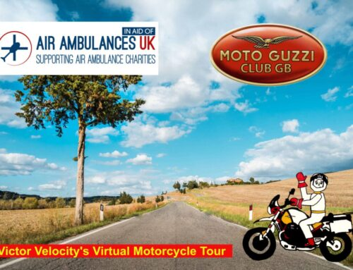 Support Air Ambulance UK with the Moto Guzzi Club
