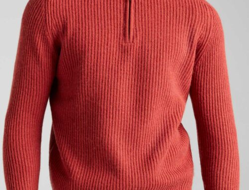 KIT: Bamboo clothing quarter zip jumper