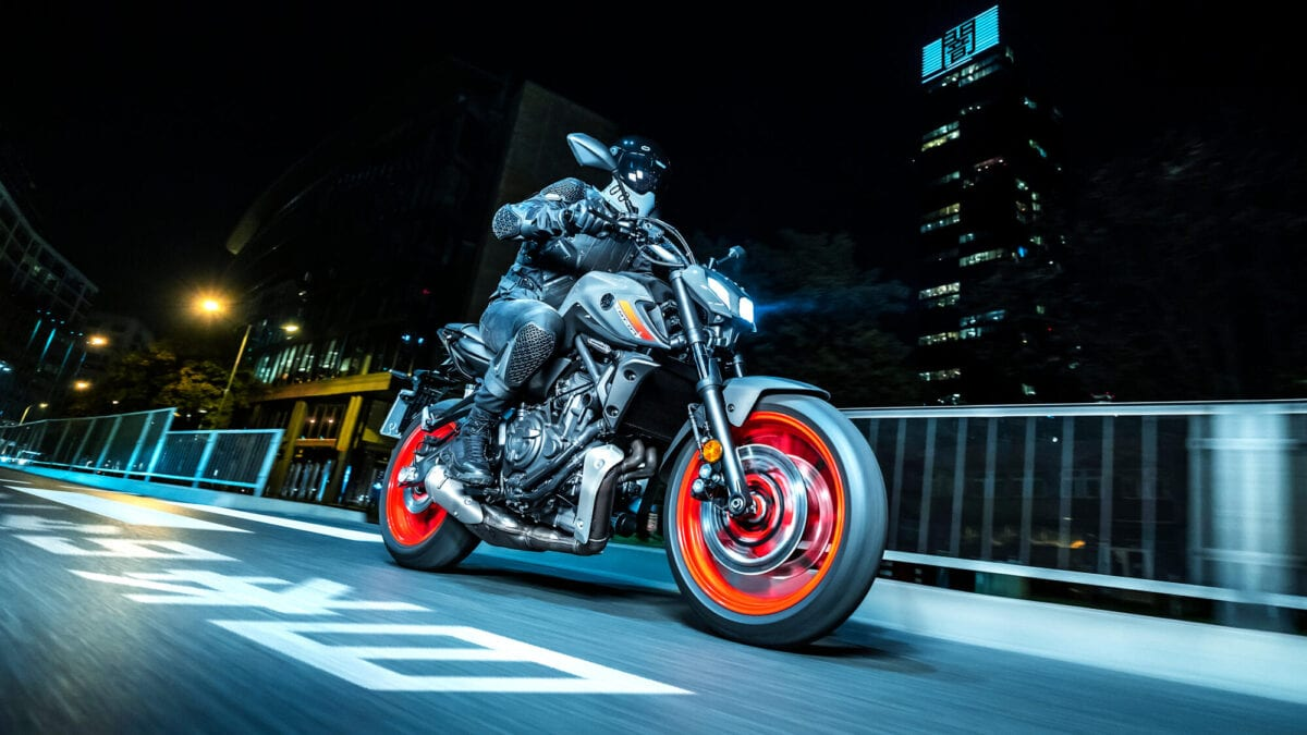 Is there a faired version of Yamaha's MT-07 on the way?