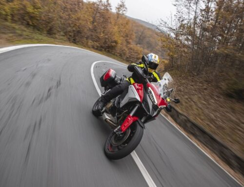 LAUNCH RIDE: Ducati Multistrada V4S. The inside line on the SUPERBIKE powered adventure machine.