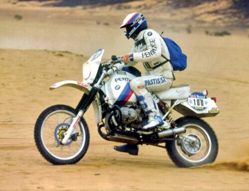 Dakar Rally legend Hubert Auriol dies aged 68