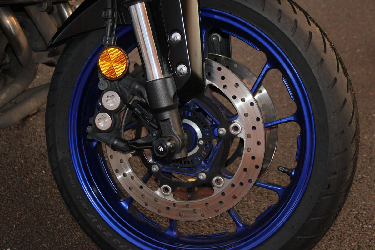 Yamaha Tracer 900 wheel