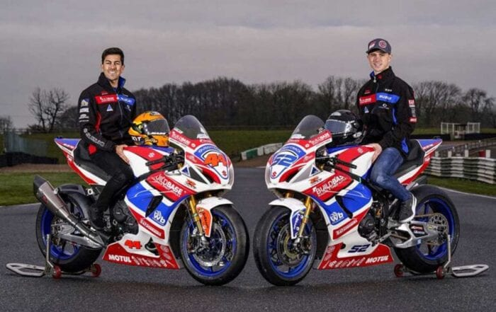 Gino Rea and Danny Kent