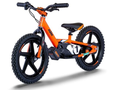 KTM for kids: New StaCyc electric balance bikes available