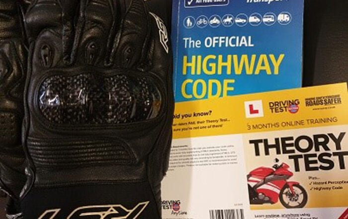 Get free motorcycle theory materials ahead of driving test return
