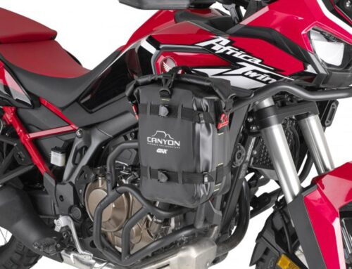 GIVI launches brand new Canyon luggage range