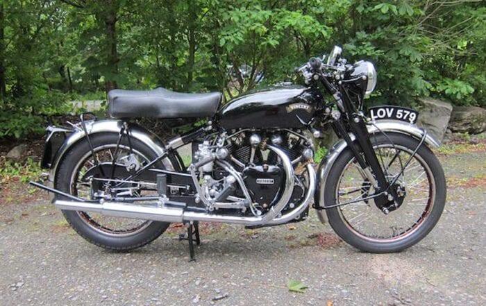 Vincent-HRD motorcycle