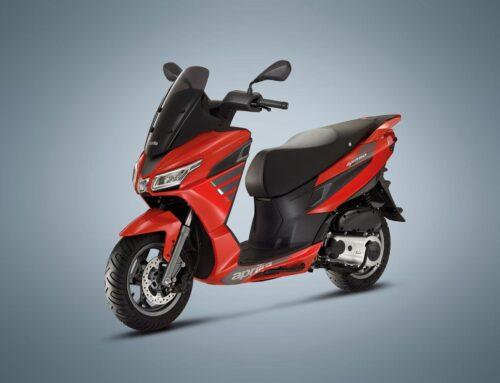 Aprilia announce new SXR 50 scooter for 2021