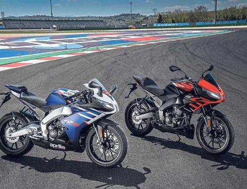 Aprilia reveal new RS 125 and Tuono 125