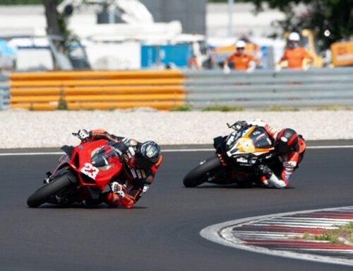 Ducati's Panigale V4 S triumphs on track