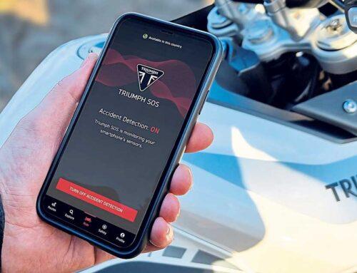 New Triumph SOS crash-detection app launched